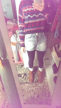 Atzec and shorts