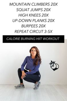 HIIT is the perfect way to burn calories in a short period of time. My favorite intense workouts will leave you sore for days! Full Body Hitt Workout, 30 Day Ab Workout, Full Body Workout At Home, Intense Workout, Workout Challenge, Fit Board Workouts, At Home Workouts, Glute Workouts, Athletic Outfits