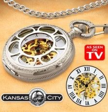 Kansas City Railroad Pocket Watch Review - Worth Buying? | As Seen On TV Product Reviews