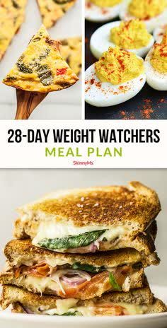 Having a plan is the best way to reach your weight loss goal. This delicious Weight Watchers Meal Plan will set you on the path to a slimmer you!