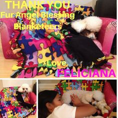 "FELICIANA --> Hi Terri, this is Feliciana's foster, Isabella. Our family want to thank you for the reading you sent. There were endless ""aww-s"" when we read it and I was in tears. We are glad to know that Feliciana is happy cause we love her so much. Most of them seem to be accurate. Isabella, December 6, 2016"