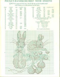 Cross-stitch Tales of Peter Rabbit, part 7... Gallery.ru / Фото #6 - 20 - OlgaHS