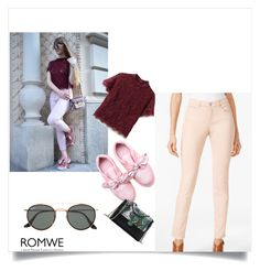 """Romwe 59"" by zerina913 ❤ liked on Polyvore featuring WithChic, Style & Co., Ray-Ban and romwe"