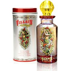 Ed Hardy Perfume- Villian... His perfume line is just incredible... I have them all...