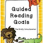 thecrazyschoolteacher.blogspot.com... Reading Goals Book marks
