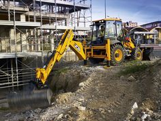 Sideshift excavator mounts are the norm for backhoes in England, but JCB says they're becoming more popular in the U.S. too.