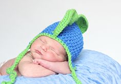 """Baby Colby- Featuring a hand made hat by """"One Knotty Mama"""" Find her on facebook-"""