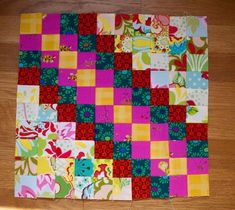 Stitches in Play: instructions for Leslie's quilt, modified - part 1 of 2