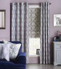 Austen fabric collection Leaf Design, All Design, Floral Design, Made To Measure Curtains, Roman Blinds, Muted Colors, Diamond Pattern, Contemporary, Modern