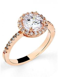 Classy New Arrival Crystal Zircon Alloy Ring