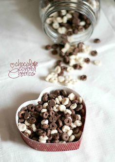 Chocolate Covered Cheerios...... Hmmm interesting