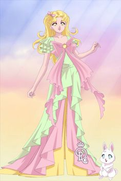 Happy Easter, Doll Divine!! by mythologydiva ~ Sailor Moon Dress Up