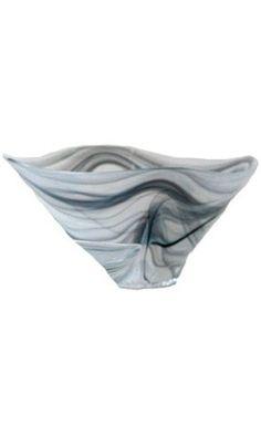 Shiraleah Large Grey Polished Alabaster Squared Bowl Best Price