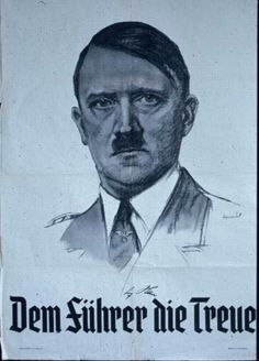 Translation : The Fuhrer the ASSHOLE!