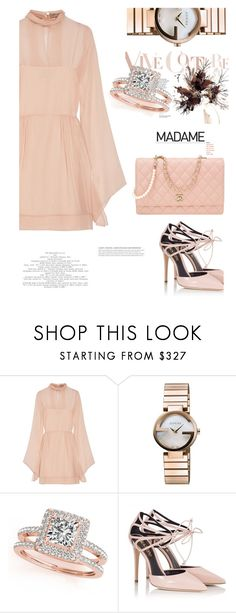 """""""Vive Couture"""" by ildiko-olsa ❤ liked on Polyvore featuring Emilio Pucci, Gucci, Allurez, Fratelli Karida and Chanel"""