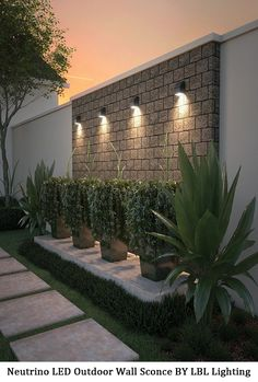 Outdoor landscape lighting, Outdoor lighting, Garden, Fence lighting, Yard landscaping, Outdoor landscaping - OD1012 Neutrino LED Outdoor Wall Sconce -  #Outdoorlandscape #lighting