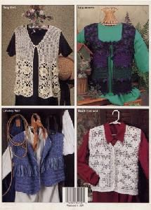 Crochet Vests Vintage Crochet Booklet 6 Designs by Sue Childress and Frances Hughes Knit Or Crochet, Crochet Vests, Cowboy Vest, Vintage Crochet, Booklet, Warm Weather, Crochet Patterns, Birches, Knitting