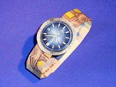 Geldgeschenk Uhr