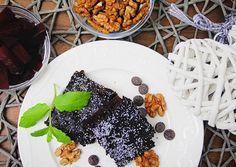 Céklás Brownie (glutén- tej- és cukormentes)