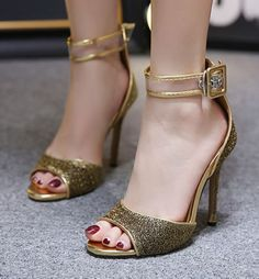 Twinkle Bead Fashion Heels(Size:35-40)_Sandal_WHOLESALE SHOES_Wholesale clothing, Wholesale Clothes Online From China