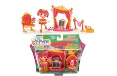 Mini Lalalooopsy Playset - Tippy's Ballet Recital This mini Lalaloopsy set will let your little one play with Tippy during her ballet recital. The set comes with a collectible doll, so your child can play with Tippy and make her ballet dreams come true right away. Plastic set is lightweight, so it's easy to take with you when you visit friends or family members. - To order: http://www.shopaholic.com.ph/toys.html#!/Mini-Lalalooopsy-Playset-Tippys-Ballet-Recital/p/32244300/category=6708182