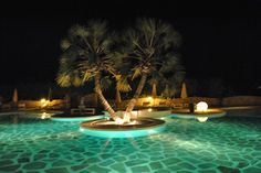 our restaurant area with an amazing swimming pool. @kolabeach. the place to be