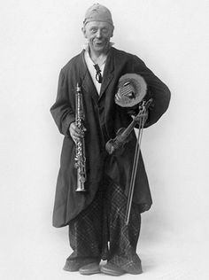 "Grock - born Charles Adrien Wettach, was a Swiss clown, composer and musician. Called ""the king of clowns,"" Grock was once the most highly paid entertainer in the world."