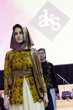 Modest Fashion, combining Batik (Traditional Fabric from Indonesia) and edgy cuts, one armed vest inspired by the Roman outfits in the past. A piece within the collection that appreciates cultures.