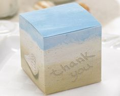 Seaside Jewels Favor Box (Set of 25) - Love how Pinterest helps me keep all these ideas streamlined.