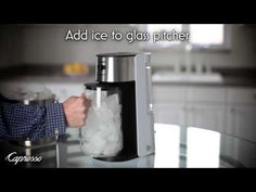 Enjoy a glass of refreshing iced tea. See our Iced Tea Maker in action on our YouTube Channel. #RefreshWithCapresso