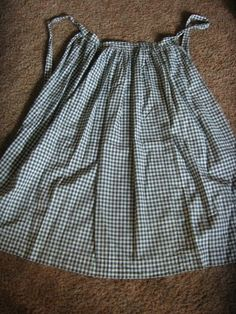 I have had this apron for years as one of my favorite early and home made textiles. So many folks collect the old blue checks and brown fabr...