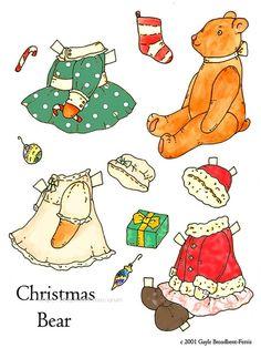 종이인형 (크리스마스) : 네이버 블로그