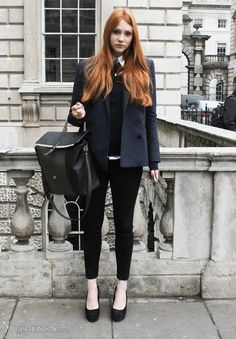 Fashionising.com's Fashion Blog: Fashion Trends & Celebrity Fashion - Schoolgirl chic, London style