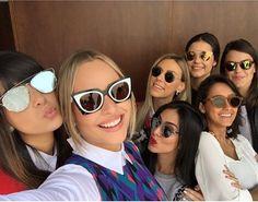 As blogueiras amam óculos de sol! E você, qual é o seu preferido? ♥ #oticaswanny #fendi #dior #soreal #orchidea #sunglasses #compreonline