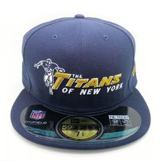 NEW YORK JETS TITANS NFL NEW ERA 59 FIFTY FITTED HAT/CAP (SIZE 7 5/8) -- NEW #NEWERA59FIFTY #NewYorkJets