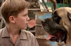 Hercules AKA The Beast. Possibly the most misjudged dog in movie history. Hercules was played by a cuddly English Mastiff.