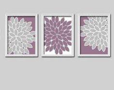 purple wall decor - Google Search