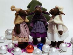 Символ года! Очаровательные овечки. - тёмно-фиолетовый,новый год,новогодний подарок