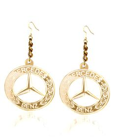 Mercedes Benz earrings