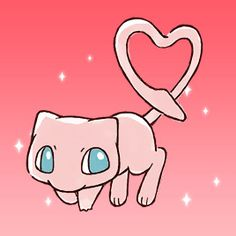 All about pokemon, games and cartoons Mew And Mewtwo, Pokemon Mew, Pokemon Ships, Cute Pikachu, Cute Pokemon, Kawaii Shop, Kawaii Cute, Pokemon Tattoo, Kawaii Wallpaper