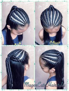 There are so many different ways you can rock black braided hair. Yarn braids are a particularly stunning idea of a hairstyle that focuses on the distinct texture that is obviously artificial, but in a way in tune with your kinks. Braided Hairstyles Tutorials, Sleek Hairstyles, Trending Hairstyles, Braid Hairstyles, Yarn Braids Styles, Braid Styles, Braids For Short Hair, Braids For Long Hair, Cornrows