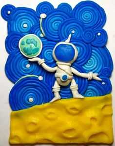 Поразительные картины, которые сделаны из пластилина / Я - суперпупер