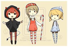 Adoptables [CLOSED] by AmberTheSatyr on deviantART