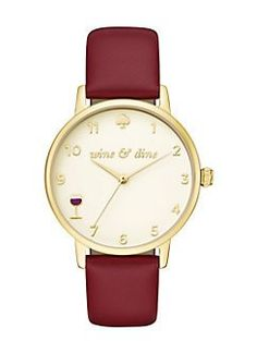 wine and dine metro watch by kate spade new york