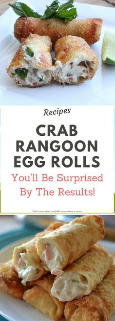 Crab Rangoon Egg Rolls!! Need to know!!!
