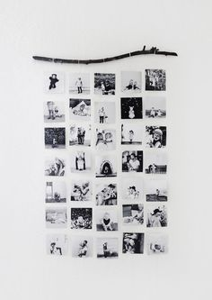 Very simple and cute way to display your photos!