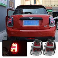 Mini Cooper Accessories, Left And Right, Led Tail Lights, Union Jack, Abs, Fitness, Black, Crunches, Black People