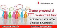 Sysdat Turismo sarà presente al TTT di Erba-Como il prossimo 30 settembre e 1 ottobre. Venite a trovarci.