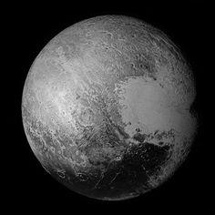 Pluto Flyby Mosaic | NASA New Horizons Pluto flyby: July 14, 2015    Credit: NASA/JHUAPL/SwRI Processing: Elisabetta Bonora & Marco Faccin / aliveuniverse.today