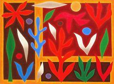 John Coburn, Abundant garden , 1986